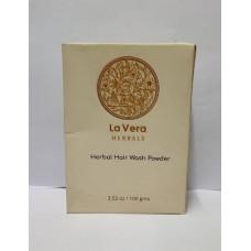 La vera herbal (hair washing powder)